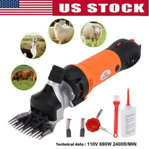 690w Electric Farm Machine Supplies Sheep Goat Shears Animal Shearing Clipper A