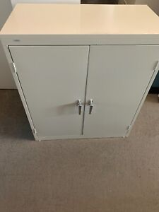 2 Drawer Storage Cabinet By Hon Office Furniture In Putty Color