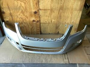2009 Volkswagen Tiguan Front Bumper Cover Panel Guard Protector Silver Oem