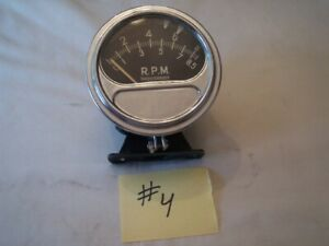4 Vintage Sun Tach Rc 85 Chevy Rat Rod Hot Street Vintage Chevy Ford 348 409