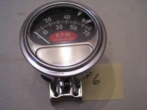 6 Vintage Sun Tach Rc 70 Chevy Rat Rod Hot Street Vintage Chevy Ford 348 409