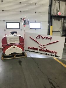 Brand New Avalon Pdr600 Steerable Double Drum Roller Compactor Tamper