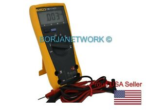 Fluke 77 Iii With Test Leads Included Good Conditions