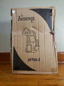 Homdox Sump Pump 1 Hp Submersible Clean Dirty Water Pump W Float Jp750 2 Pond