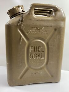 Green Army Military Scepter Us Military Fuel Can Gas Jerry 5 Gal Tank