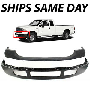 New Front Bumper Face Bar Upper Cover Kit For 2011 2016 Ford F250 F350 Superduty