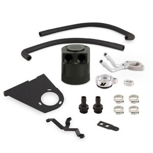 Mishimoto Baffled Oil Catch Can Kit For 17 Ford 6 7l Powerstroke