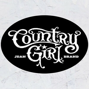 Country Girl Bumper Stickers Graphic Decals Country Lifestyle Pride Truck Car