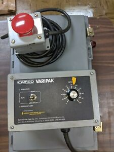 Camco Varipak Indexer Controller With Speed Control And E Stop