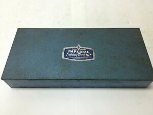 Imperial eastman Tubing Flaring Tool Kit No 121 fa W cutter Bender