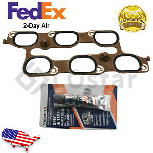 Engine Intake Manifold Gasket For 10 20 Buick Enclave Cadillac Xts Srx 12673301