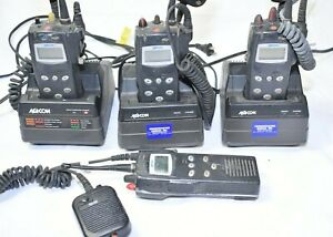 Macom Harris P7100 Ip Portable 2 way Radio Model Ht7150881x 800 Mhz Lot Or 4