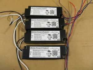 Lot Of 4 thomas Research Constant Current Dimmable Led Driver Led30w 24 c1250 d
