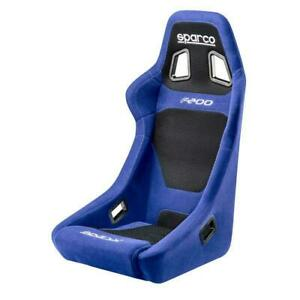 Sparco 00917az Street Racing Bucket Performance Seat F200 Blue Black