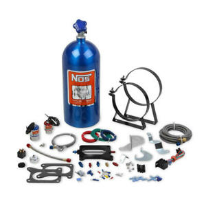 Nos Nitrous Oxide Injection System Kit 02120nos 125 Hp Wet For Mustang Cobra