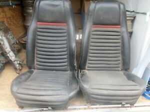 1969 Ford Mach 1 Bucket Seats Used