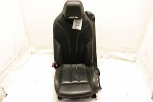 Black Driver Front Bucket Seat Leather 72127269084 Fits 15 16 17 Bmw M4 F82 Oem