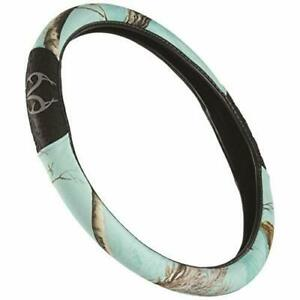 Realtree Camo Steering Wheel Cover Cool Mint