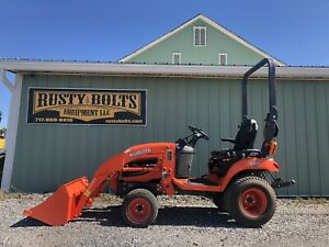 2014 Kubota Bx2670 4x4 Diesel Compact Tractor Clean 162 Hrs Cheap Shipping