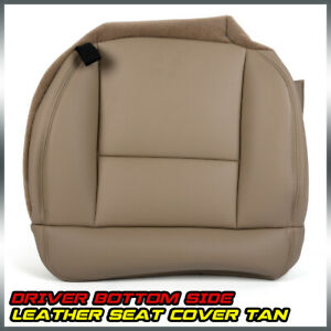 Replacement For 2005 2008 Ford F150 Lariat Driver Side Bottom Leather Seat Cover