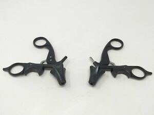 Aesculap Inc Po951r Surgical Quick snap Monopolar Ratcheing Handle set Of 2