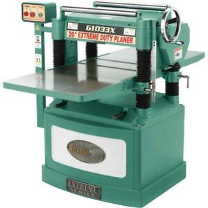 Grizzly G1033x 20 5 Hp Helical Cutterhead Planer