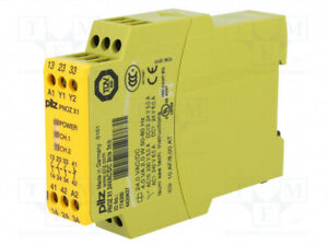 Pilz Pnozx1 24vac dc Safety Relay 774300 3 no 1 nc