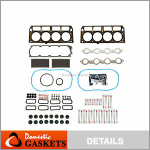Head Gasket Bolts Set Fit 05 07 Cadillac Chevrolet Corvette Cts Pontiac Gto 6 0