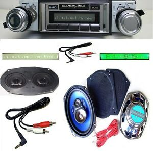 1970 1972 Cutlass 442 F85 Radio Stereo Dash Replacement Speaker 6x9 S 230