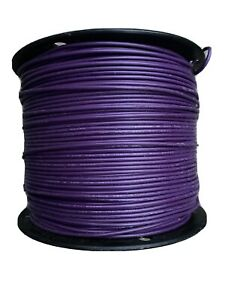 St6 22 1000 Purple Wire 22awg Stranded 22awg 600v