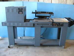 Freestanding Shrink Pack Sealing Machine With Heat Tunnel