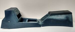 80 86 Datsun Nissan 720 Blue Center Shifter Armrest Storage Console
