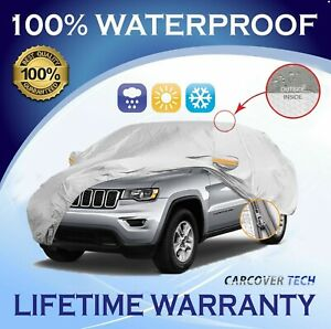 100 Weatherproof Full Suv Cover For Jeep Grand Cherokee 2005 2020