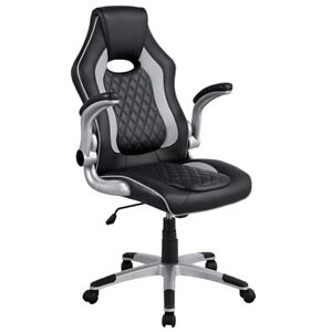 Gaming Chair Video Game Chair High Back Executive Office Chair Swivel Desk Chair