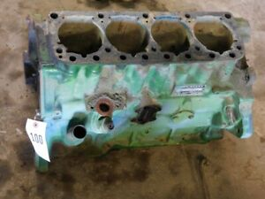 John Deere 2010 Gas Tractor Engine Block Part 2010r438394 Tag 100