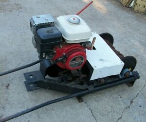 Portable Gas Power Winch For Gold Mining Dredge Recovery Logging
