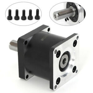 Durable Nema23 Planetary Gearbox High Torque 57mm In out Flange Gear Ratio 5 1