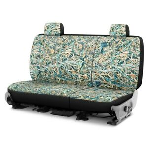 For Honda Pilot 19 20 Cowboy Camo 2nd Row Turquoise Custom Seat Covers