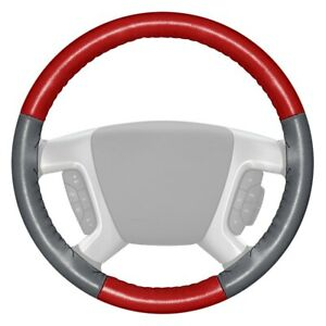 For Chevy Corvette 86 89 Steering Wheel Cover Eurotone Two color Red Steering