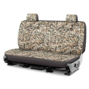 For Chevy Express 1500 96 02 Cowboy Camo 2nd Row Graystone Custom Seat Covers