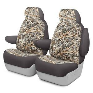 For Chevy Silverado 3500 Hd 19 Cowboy Camo 1st Row Graystone Custom Seat Covers