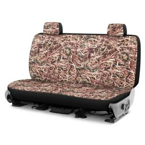 For Chevy Express 1500 96 02 Cowboy Camo 2nd Row Berry Custom Seat Covers