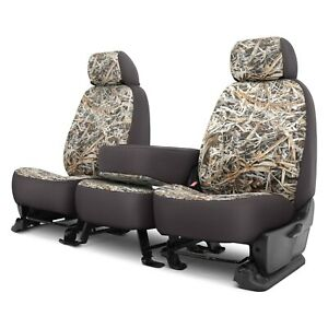 Dash Designs Cowboy Camo 1st Row Graystone Custom Seat Covers