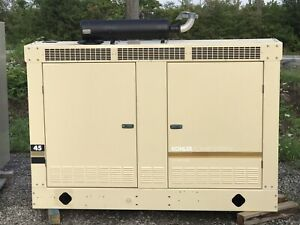 40 Kw 45kw Generator Natural Gas Propane 277 480v Re connectable Kohler Gm 4 3
