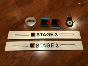 2005 2014 Ford Mustang Roush Stage 3 Edition Emblems Sill Plates Lot