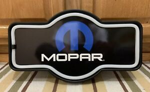Mopar Led Light Wall Decor Man Cave Garage Shop Parts Gas Oil Auto Car Truck