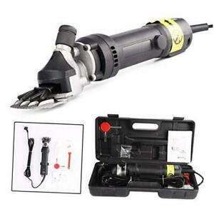 6 Speed Sheep Shears Electric Clippers For Goats Alpacas Llamas Thick Coat An