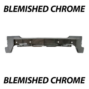 Blemished Chrome Front Bumper Face Bar For 2019 2020 Chevy Silverado 1500 W park