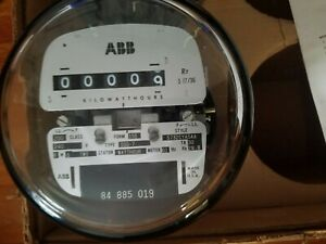 New Abb D5s 7 Electric Polyphase Watthour Meter