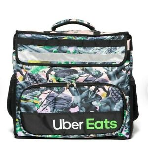 Uber Eats Delivery Insulated Backpack Limited Edition Artist Series Bag brent